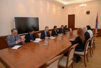 Armenia's finance minister holds meeting with ADB delegation