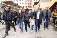PM Pashinyan, Cabinet members, lawmakers roll up sleeves and join people for nationwide 