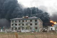 2800 residential buildings damaged in China chemical plant explosion