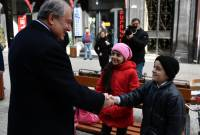 President Sarkissian wants to put 'extraordinary' Gyumri city on world map as int'l cultural 