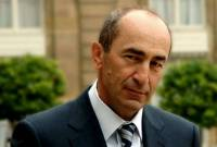 Jailed ex-President Robert Kocharyan files fifth complaint to ECHR