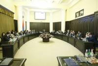 Armenian government to convene extraordinary Cabinet meeting