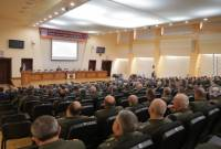 Armenian top brass convene meeting