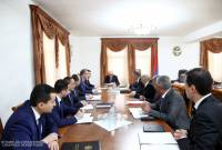 President of Artsakh convenes consultation with participation of heads of regional 