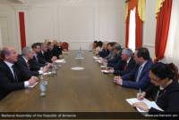 Vice Speaker of Parliament of Armenia receives Czech delegation led by defense minister