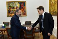 "PM Pashinyan, Nicolas Aznavour discuss creation of ""Aznavour"" Center in Yerevan"
