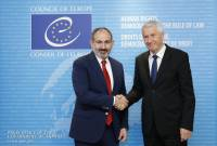 CoE to continue supporting Armenia to develop democracy: Thorbjørn Jagland to Pashinyan