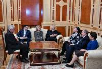 Armenian President receives Arc Publications representatives