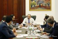 PM introduced on report of activity of Armenian National Interests Fund