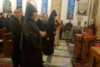 PM Pashinyan visits St. Forty Martyrs' Armenian Apostolic church in Milan