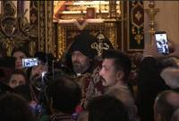 BREAKING: Bishop Sahak Mashalian elected 85th Armenian Patriarch of Constantinople