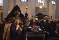 """Pray for me"", Patriarch-elect Sahak Mashalian vows great changes for Armenian community"