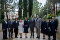 Syrian MP of Armenian origin meets with Assad and his wife