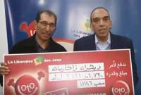 Lebanese-Armenian man wins $1,2 million jackpot