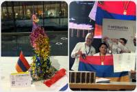 Armenian pastry chefs win 6 medals at Culinary Olympics in Germany