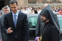 Armenian Diocese of Damascus expresses gratitude to Syria's Assad