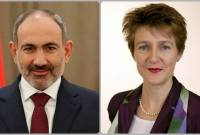 PM Pashinyan sends congratulatory message to Swiss President on National Day