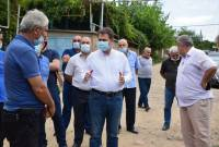 """Standing taller than ever"" – Tavush Governor visits villages targeted by Azerbaijani artillery"