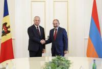 Armenian PM congratulates Moldova's Dodon on Independence Day