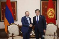 Armenian PM congratulates Kyrgyz President on Independence Day