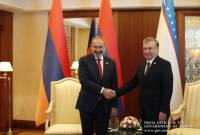 Armenian PM congratulates President of Uzbekistan on Independence Day