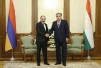 PM Pashinyan congratulates President Emomali Rahmon on Tajikistan Independence Day