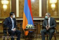 Armenian PM receives President of Artsakh