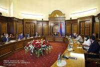 PM Pashinyan chairs consultation on 2021 state budget draft