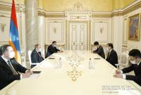Armenia and China eager to boost cooperation: PM meets outgoing ambassador