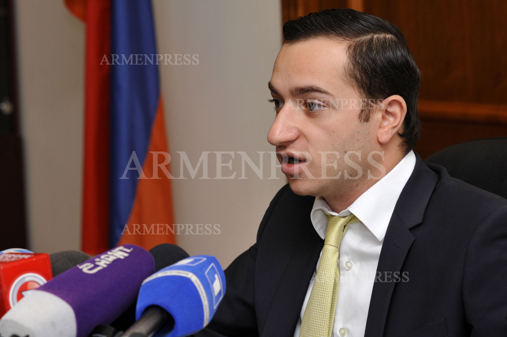 MP Mkhitar Hayrapetyan's news briefing