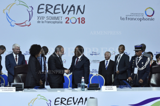 Armenia assumes chairmanship of La Francophonie summit