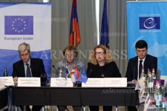 Press conference on Council of Europe projects