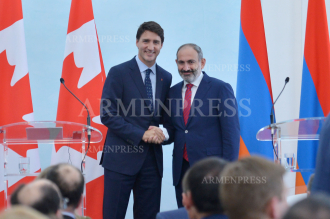 Joint press conference of Nikol Pashinyan and Justin Trudeau