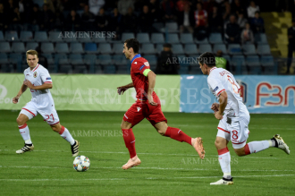 Gibraltar defeats Armenia 1:0 in UEFA Nations League match