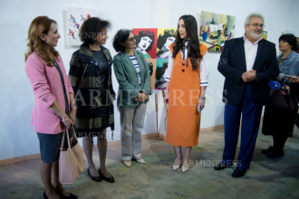 Armine Aghayants's charity exhibition-fair