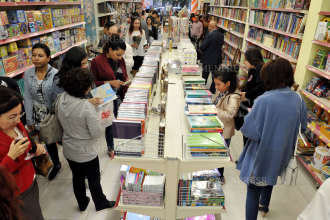 Opening of Bookinist store: 'Old City - New bookstore'
