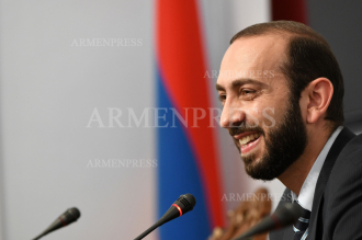 Press conference of acting first deputy prime minister of 