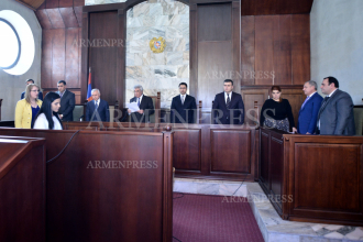 Supreme Judicial Court examines motion to hold judge Arayik 