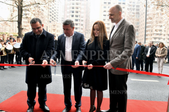 Inauguration of Holiday Inn Express hotel in Yerevan