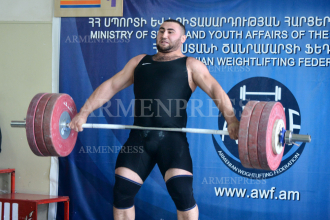 Armenian weightlifting championship