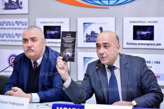 News conference on Aram Safaryan and Ashot Tavadyan