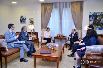Armenian FM Zohrab Mnatsakanyan meets with PACE co-