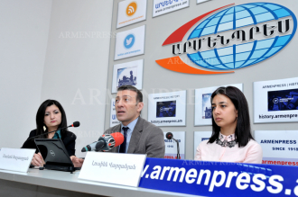Press conference of CEO of Armenian Sleep Disorders 