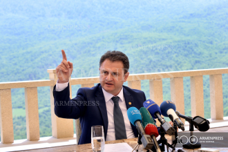 Governor of Tavush Hayk Chobanyan's press conference