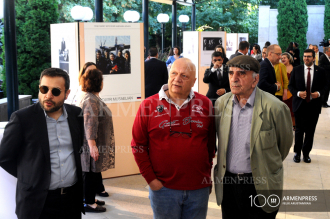 Exhibition at Presidential Residence as part of First Armenian 