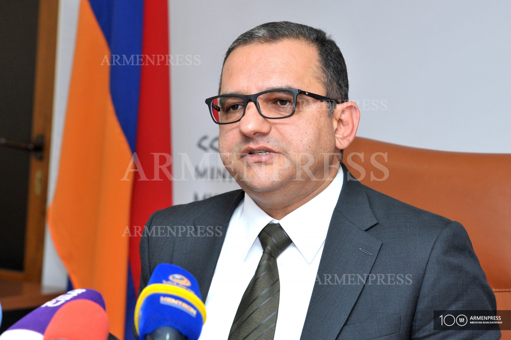 Minister of Economy Tigran Khachatryan's press briefing
