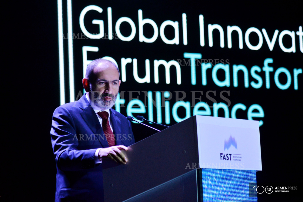 PM Nikol Pashinyan's remarks at Global Innovation Forum 2019