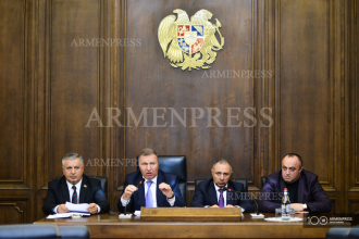 Prosperous Armenia Party briefing