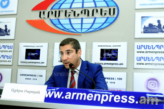 Press conference of acting director of the National Institute of 