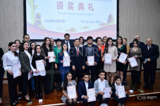 Chinese embassy awards Chinese language teachers and 